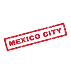 Mexico City Rubber Stamp vector