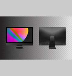 stock realistic set personal vector image