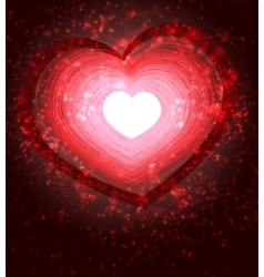 valentines day abstract background for greeting vector image