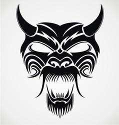 Devil Mask vector image vector image