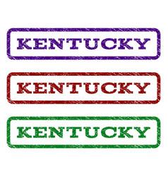Kentucky watermark stamp vector