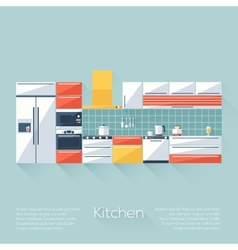 Kitchen Cover vector image