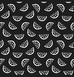 watermelons seamless pattern vector image