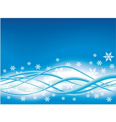 Abstract Background Snowflake vector image
