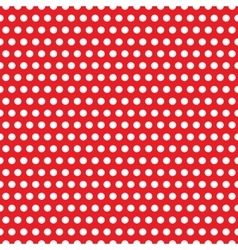 Abstract geometric retro pattern seamless Polka vector image