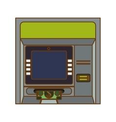 Atm icon image vector