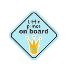 baon board safety sign vector image