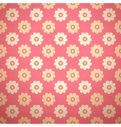 Feminine floral seamless pattern tiling vector