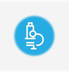 microscope icon sign symbol vector image