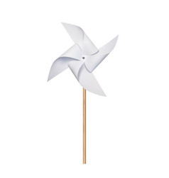 origami paper windmill vector image