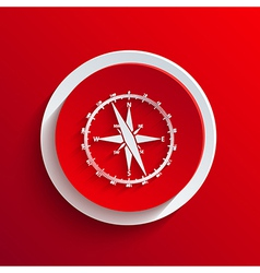 Red circle icon eps10 vector