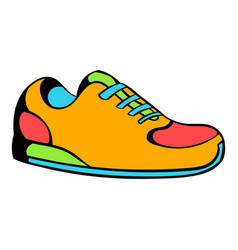 Sneakers icon icon cartoon vector