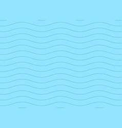 subtle blue minimal wave pattern background vector image