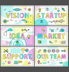 vision start up and support vector image