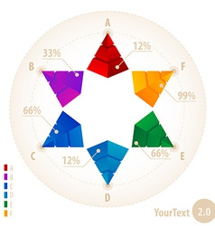 original infographic elements vector image vector image