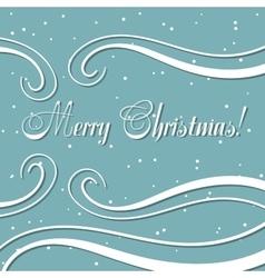 Winter Xmas Postcard 2 vector image