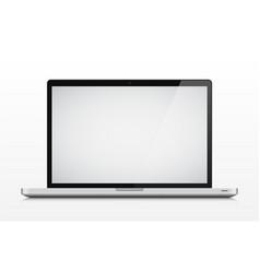 laptop vector image