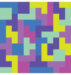 Pixel game seamless pattern vector image vector image