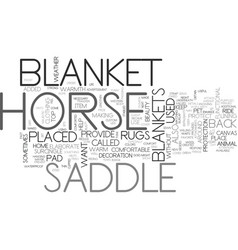 whats that under your saddle text word cloud vector image