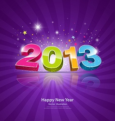 2013 Message colorful background vector