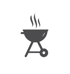 bbq icon for web business finance and vector image