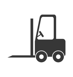Forklift icon Delivery and Shipping design vector