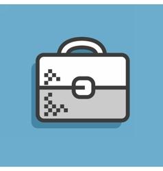 Icon briefcases vector image