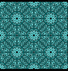 Oriental bohemian abstract seamless mosaic vector
