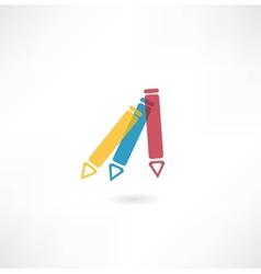 Pen icon vector image