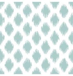 seamless geometric pattern ikat fabric style vector image