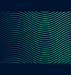 smooth sine wave pattern background vector image