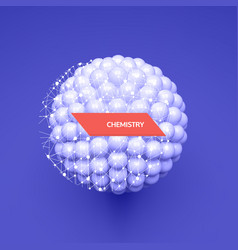 sphere 3d template abstract idea concept for vector image