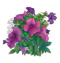 art flowers-1 vector image vector image