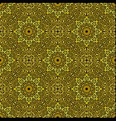 Bohemian seamless oriental gemstone ornament vector