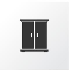 cupboard icon symbol premium quality isolated vector image