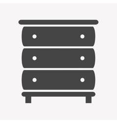 Cupboard icon Trendy Simple vector
