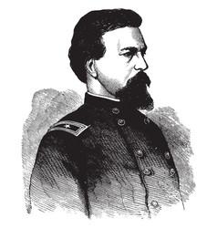 General alexander s webb vintage vector