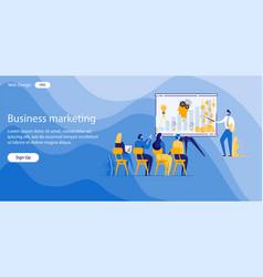 Inscription business marketing vector