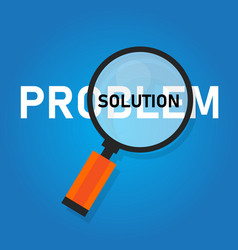 problem solution searching solutions solving vector image