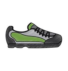 sneaker shoe icon image vector image