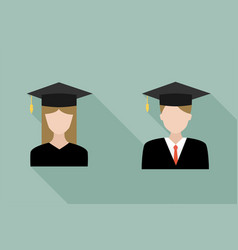 Students - icons vector