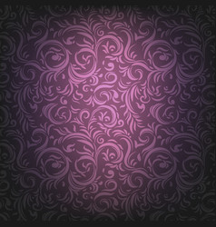 violet ornamental background vector image