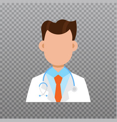 doctor avatar medical staff icon vector image vector image