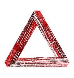 Fantastic triangle2 vector image vector image