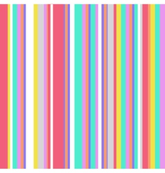 Striped Colorful Vintage Pattern vector image