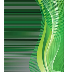 abstract green background vector illustration vector image vector image