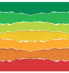 Energy performance scale paper background vector image