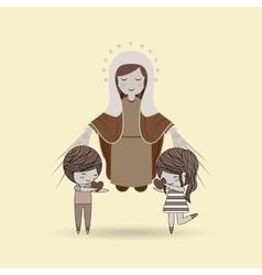 love of religion design vector image