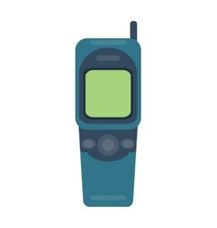 Mobile phone cellphone vector image