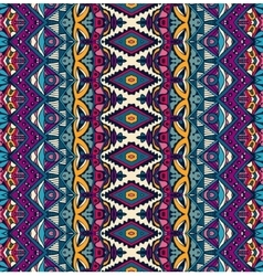 Seamless ethnic tribal indianl Geometric print vector
